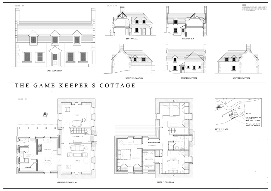 Game Keepers Cottage Iain Exley Architect And Designer - Game architecture and design