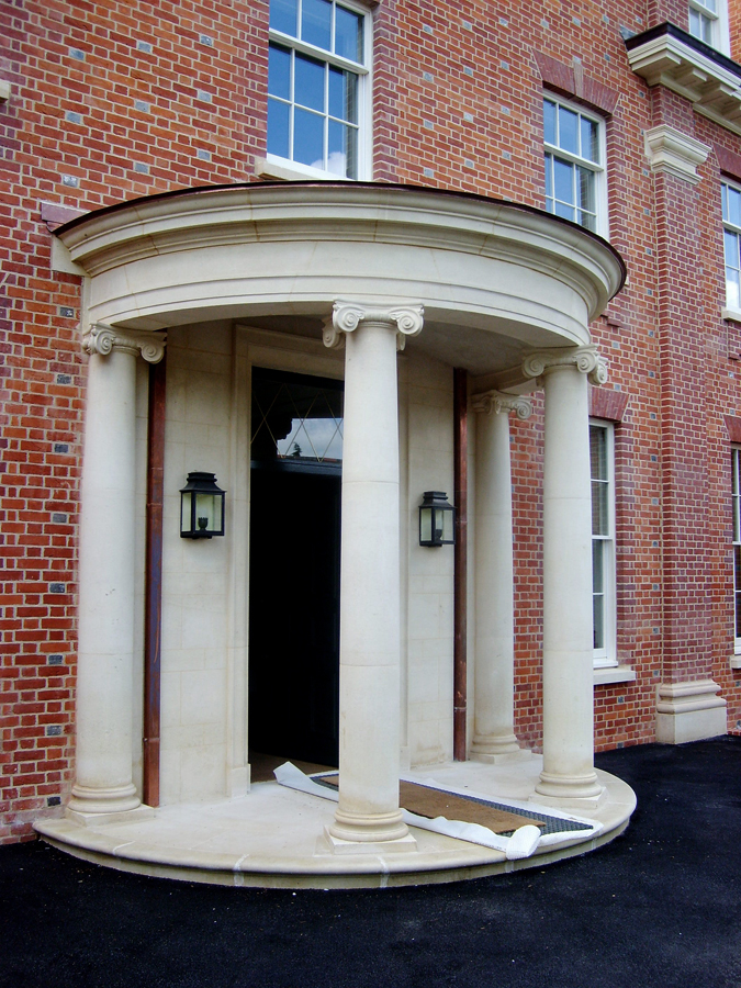 New country house portico