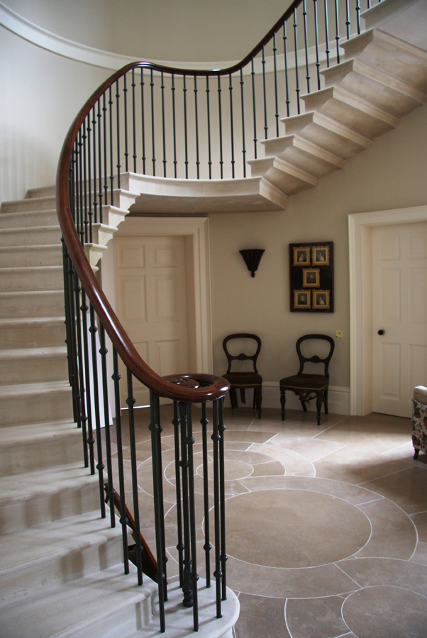 New country house stair